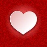 Beautiful background on Valentine's Day Stock Photo