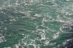 Beautiful background with the water near amazing Niagara falls Royalty Free Stock Photos
