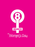 Beautiful background for womens day. Vector illustration of beautiful background for womens day Royalty Free Stock Images