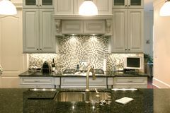 Beautiful backsplash Royalty Free Stock Photos