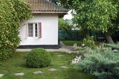 Beautiful Backyard Stock Image