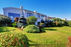 Beautiful backyard landscape design Royalty Free Stock Photography