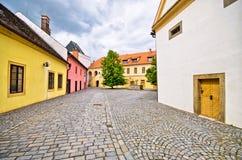 Beautiful backyard in Pardubice, Czech Republic Stock Photography