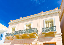Beautiful balconies Royalty Free Stock Photography