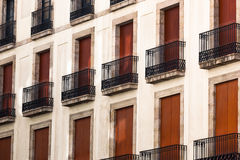 A beautiful balconies Stock Images