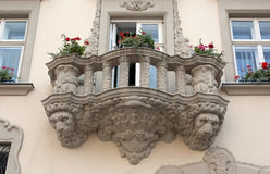 Beautiful balcony Stock Images