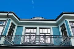 Beautiful balcony against the sky Royalty Free Stock Photos