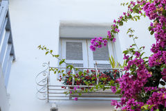 Beautiful balcony in Thailand royalty free stock photography