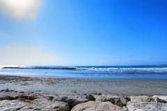 Beautiful Bali Beach royalty free stock images