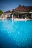 Beautiful Bali pool Royalty Free Stock Photography