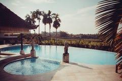 Beautiful Bali pool Stock Images