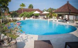 Beautiful Bali pool Royalty Free Stock Images