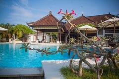 Beautiful Bali pool Stock Photos