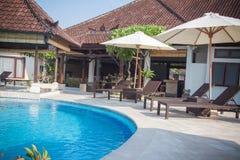 Beautiful Bali pool Royalty Free Stock Photo