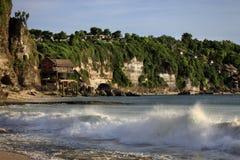 Beautiful balinese Dreamland beach Royalty Free Stock Images