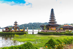 Beautiful Balinese Ulun Danau Royalty Free Stock Photos