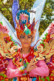 Beautiful Balinese women dancers in traditional costumes Royalty Free Stock Photo