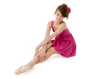 Beautiful ballerina Stock Photos