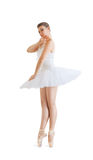 Beautiful ballerina Stock Images