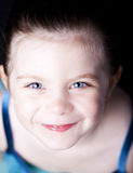 Beautiful ballerina close up portrait Stock Photography