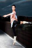 Beautiful ballerina dance ballet Stock Photo