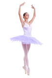 Beautiful ballerina dancer royalty free stock photography