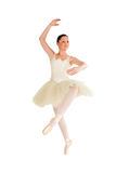Beautiful ballerina dancing Stock Images
