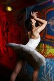 Beautiful ballerina dancing ballet dance Royalty Free Stock Photo