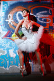 Beautiful Ballerina Dancing Ballet Dance Royalty Free Stock Photography