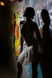 Beautiful ballerina dancing ballet dance Royalty Free Stock Images