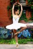 Beautiful ballerina dancing ballet dance Stock Image