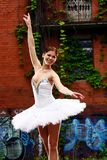 Beautiful ballerina dancing ballet dance Stock Images