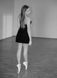 Beautiful ballerina Stock Photos