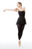 Beautiful ballerina Stock Photography