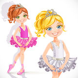 Beautiful ballerina girl Royalty Free Stock Images