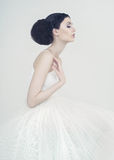 Beautiful ballerina Royalty Free Stock Photography