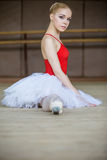 Beautiful ballerina Stock Photography