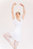Beautiful ballerina. Royalty Free Stock Photography