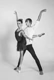 Beautiful ballet couple Royalty Free Stock Image