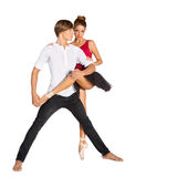 Beautiful ballet couple Royalty Free Stock Photos
