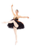 Beautiful ballet dancer Stock Photos