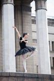 Beautiful Ballet Dancer Ballerina Stock Photo