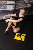 Beautiful ballet dancer royalty free stock photos