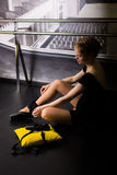 Beautiful ballet dancer royalty free stock images