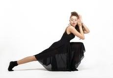 Beautiful ballet dancer Stock Photography