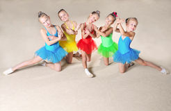 Beautiful ballet dancers Stock Image