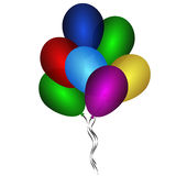 Beautiful balloons Royalty Free Stock Images