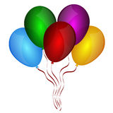 Beautiful balloons Stock Images