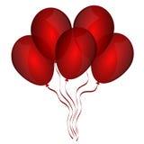 Beautiful balloons Stock Photos