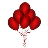 Beautiful balloons Stock Photo